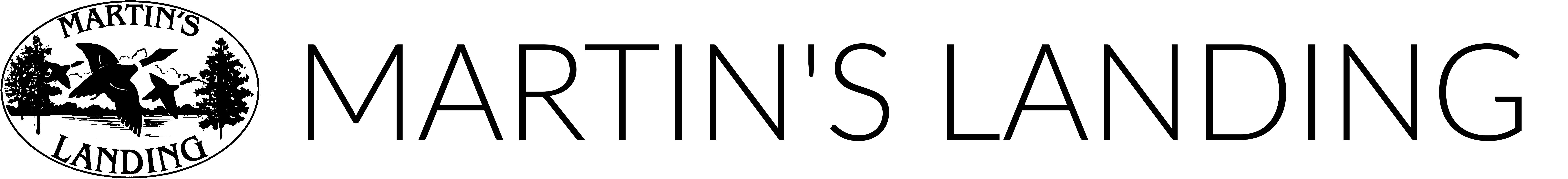 MARTIN'S LANDING Logo